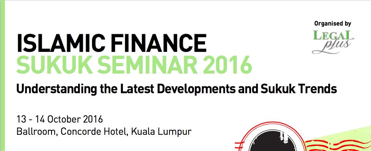 Islamic Finance Sukuk Seminar